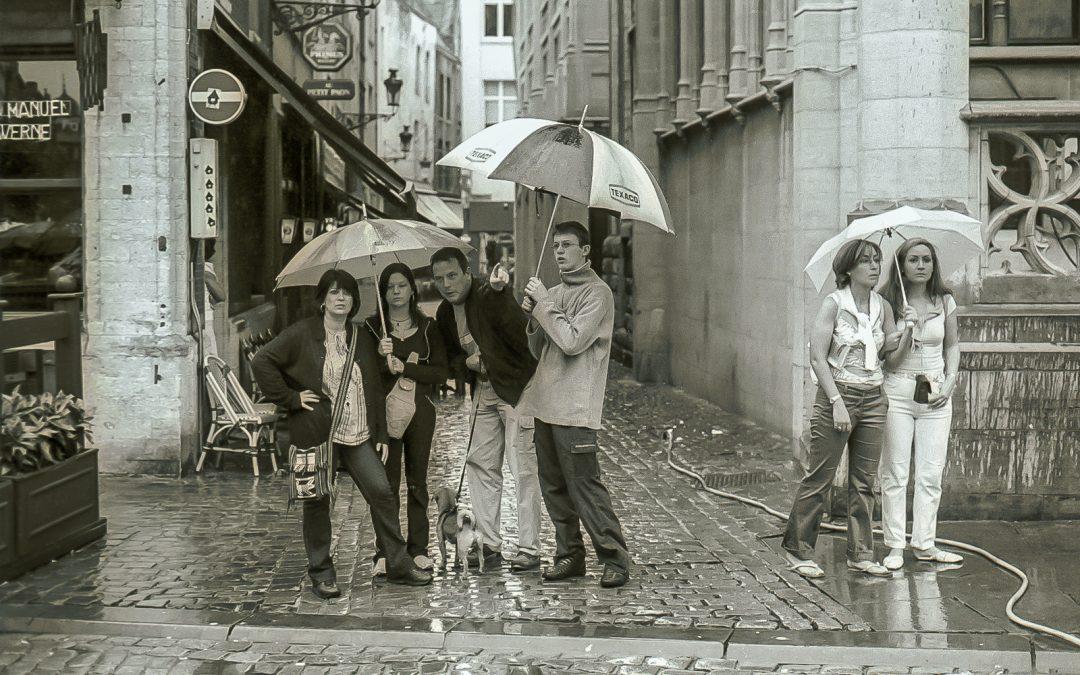Brussels, Antwerp, Brugge, and Paris